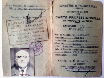 carte professionnelle